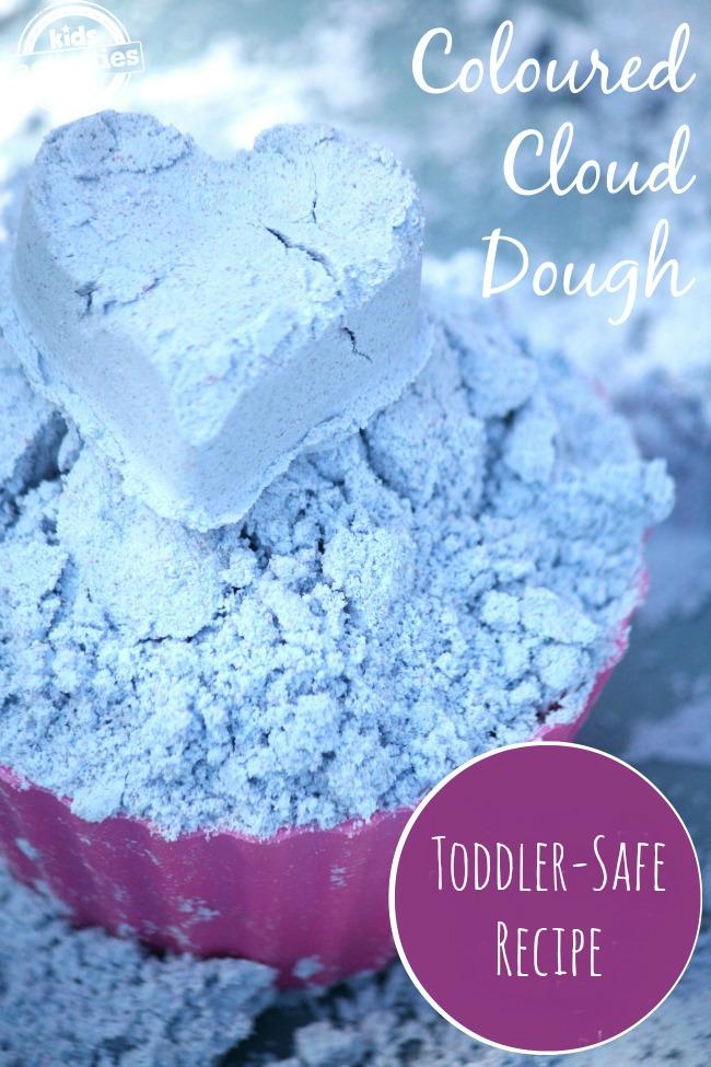 Toddler Safe Cloud Dough