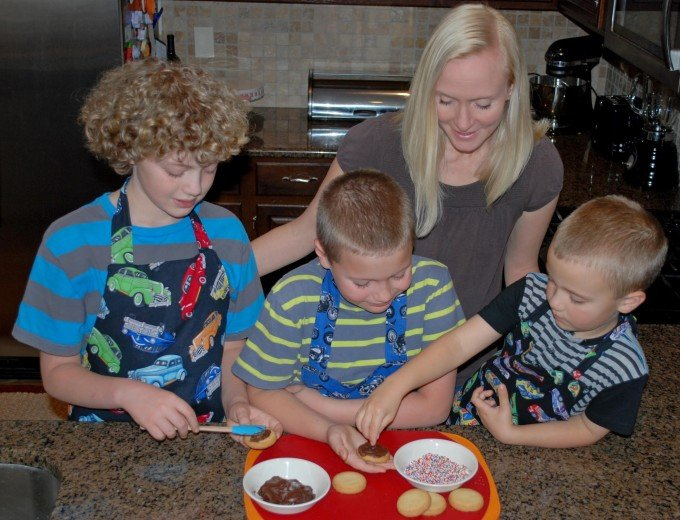 Kitchen Fun With My 3 Sons