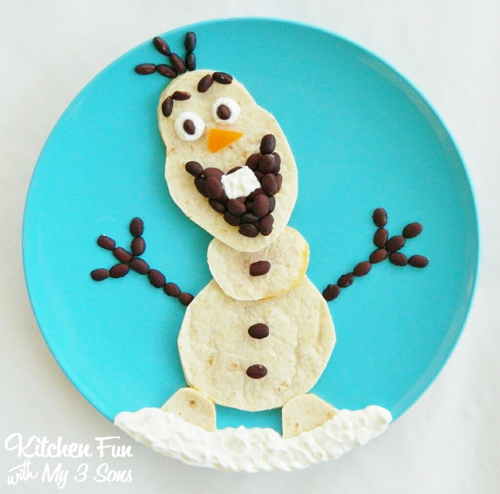 Kitchen Fun And Crafty Friday Link Party 167: Disney Frozen Elsa Pancakes For Breakfast