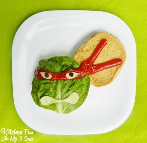 Teenage Mutant Ninja Turtle Burgers