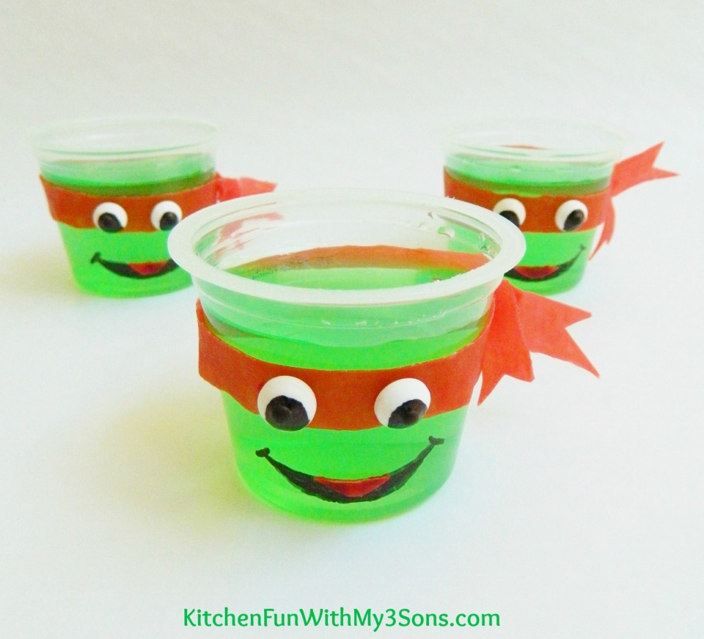 Teenage Mutant Ninja Turtle Jello Cups
