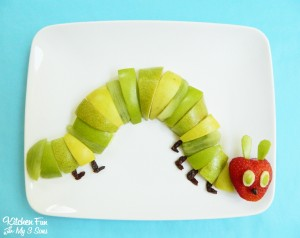 The Very Hungry Caterpillar Fruit Snack AND Contest!