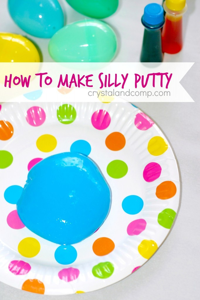 How to make Silly Putty