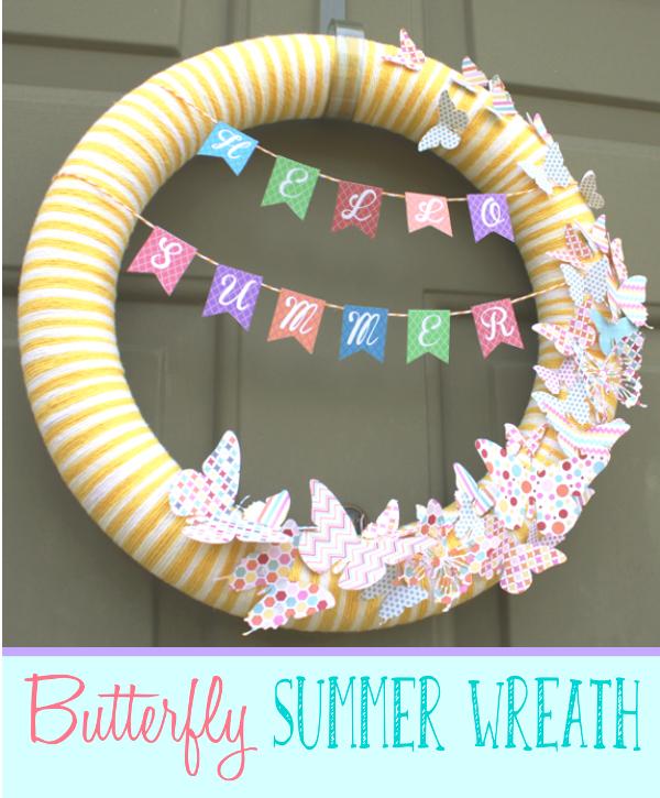 Butterfly Summer Wreath