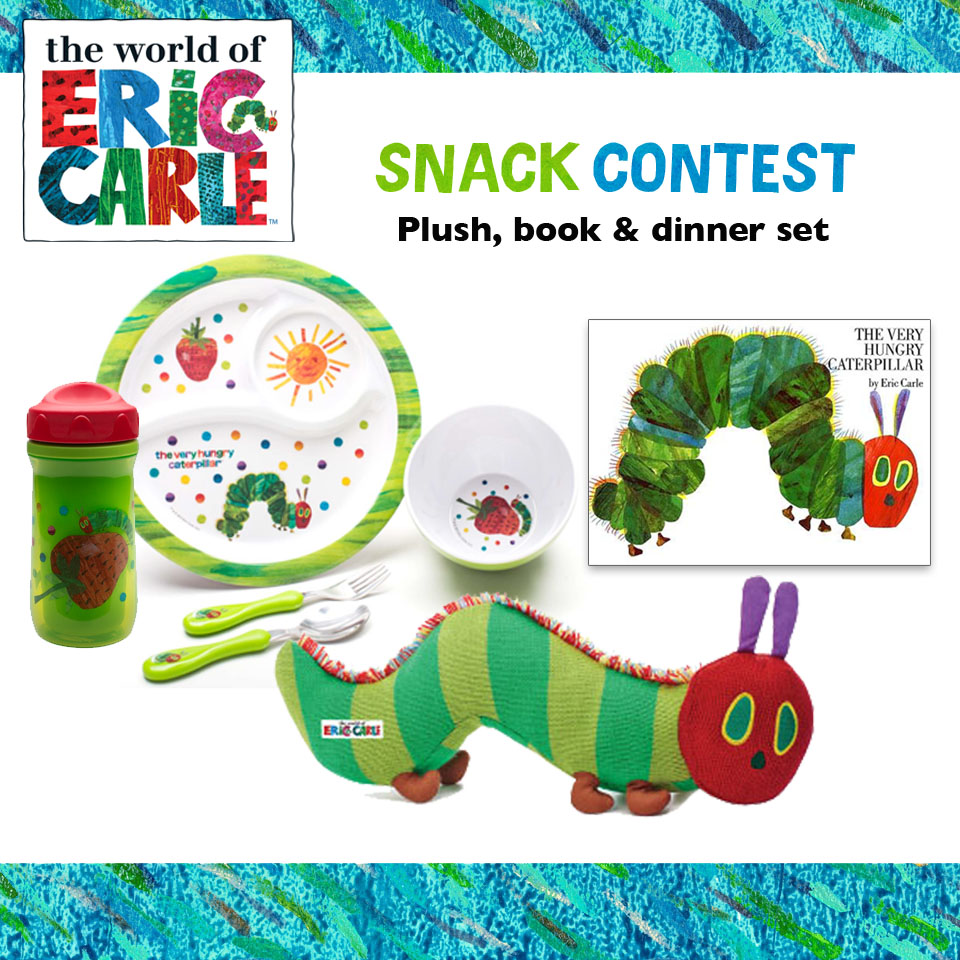 Now for the Very Hungry Caterpillar-inspired snack contest!