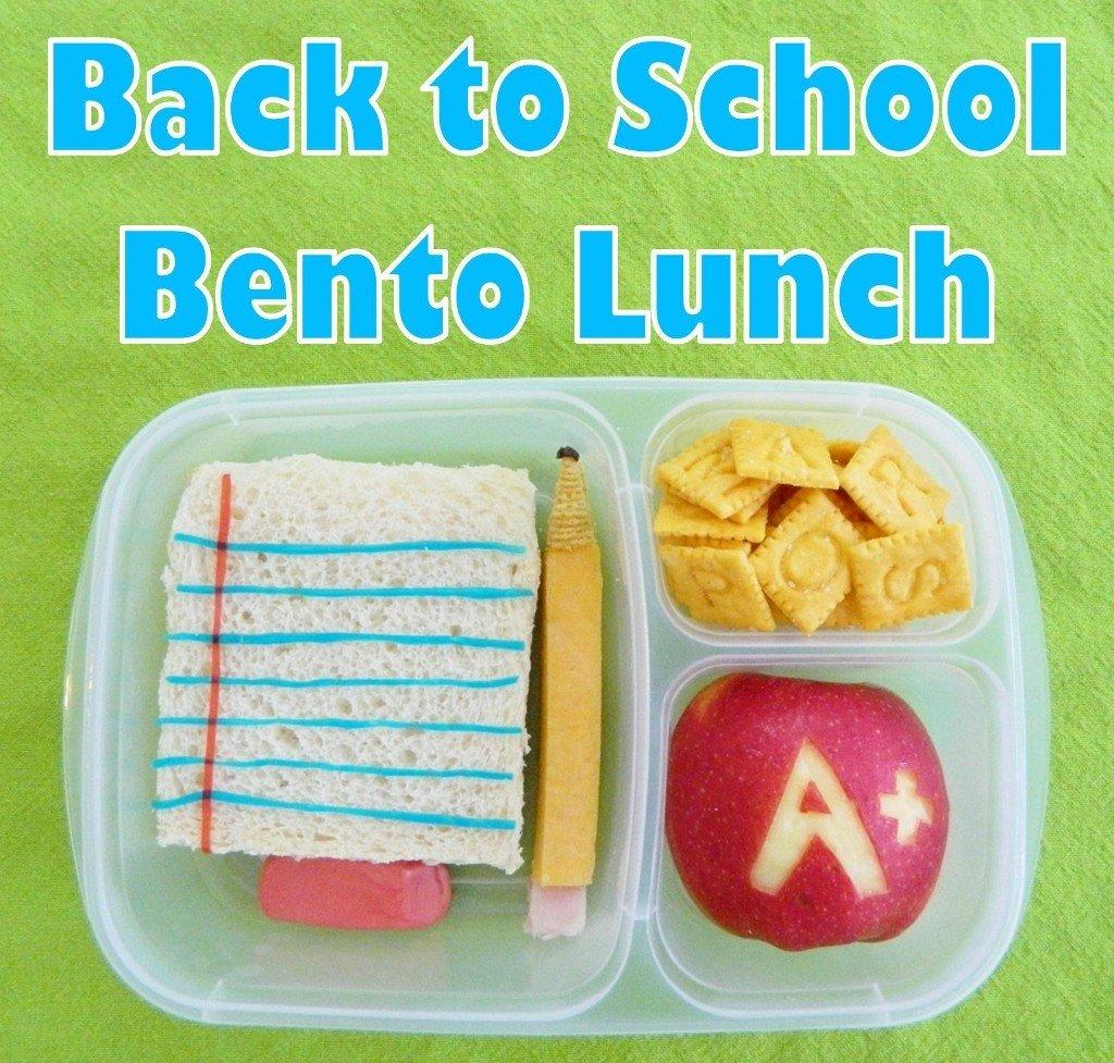 Back to School Bento