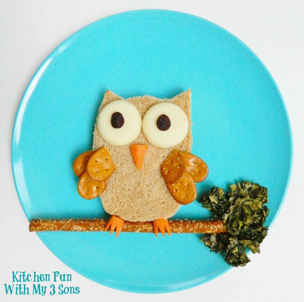 Owl Back to School Lunch with Babybel!