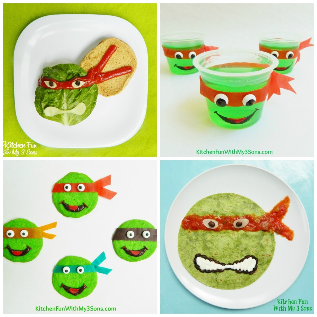 Here are a few other TMNT creations we have made