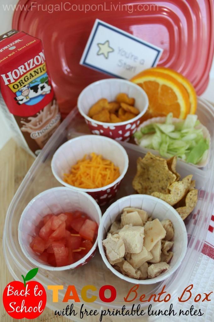 Taco Bento Box Lunch