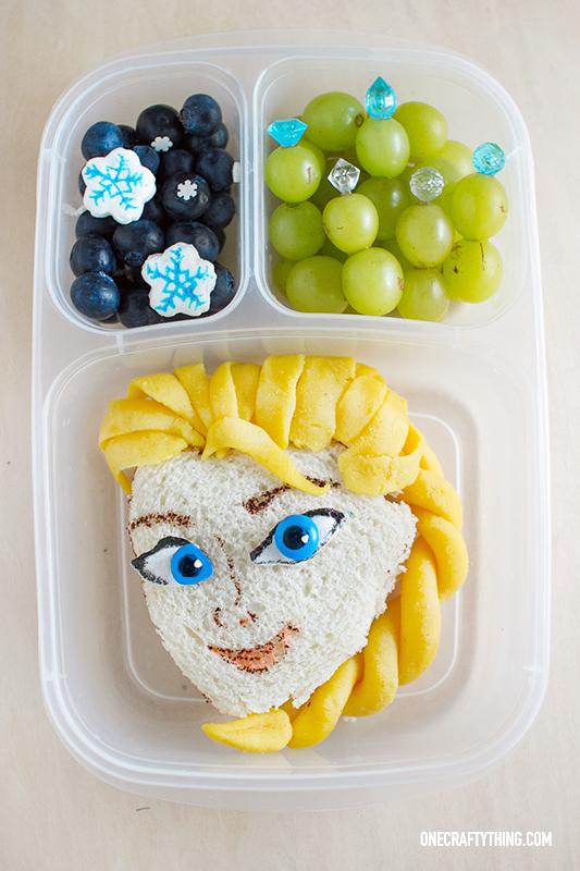 Frozen Elsa Bento