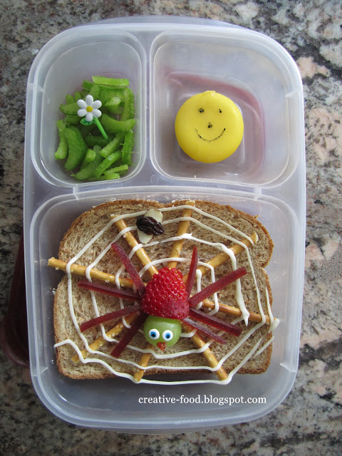 Very Busy Spider Bento
