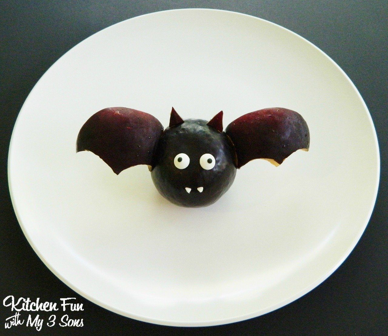 Fun Diy Home Decor Ideas Halloween Fruit Bat Snack Kitchen Fun With My 3 Sons