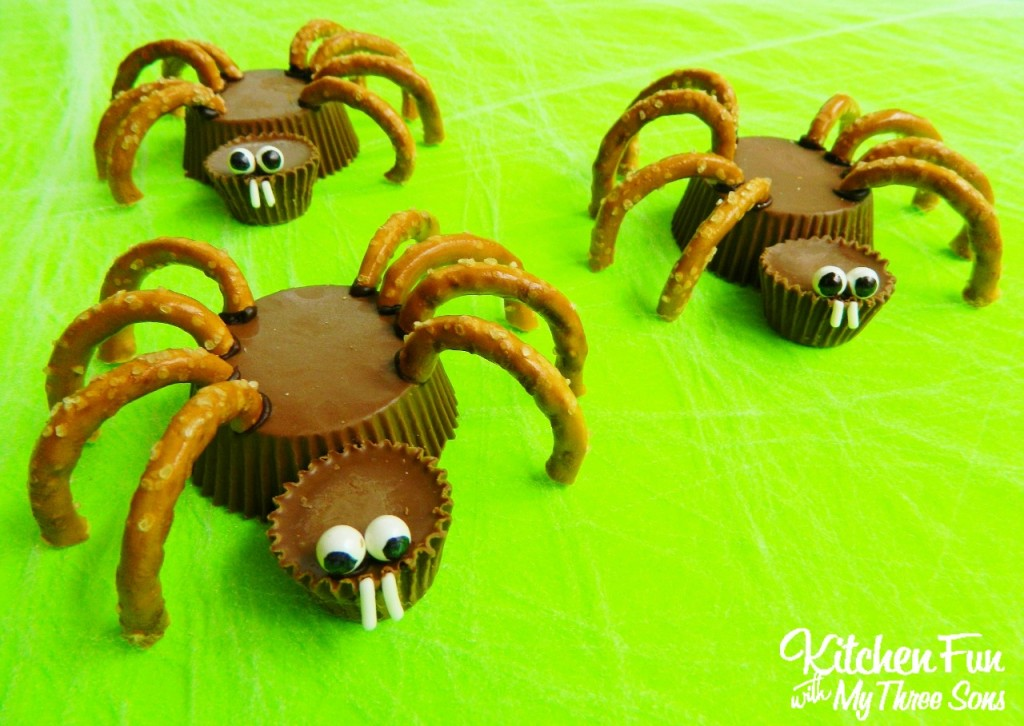 Halloween Reese's Spider Cups