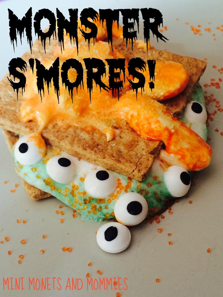 Halloween Monster S'mores