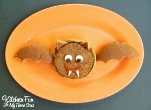 Halloween Bat Burgers