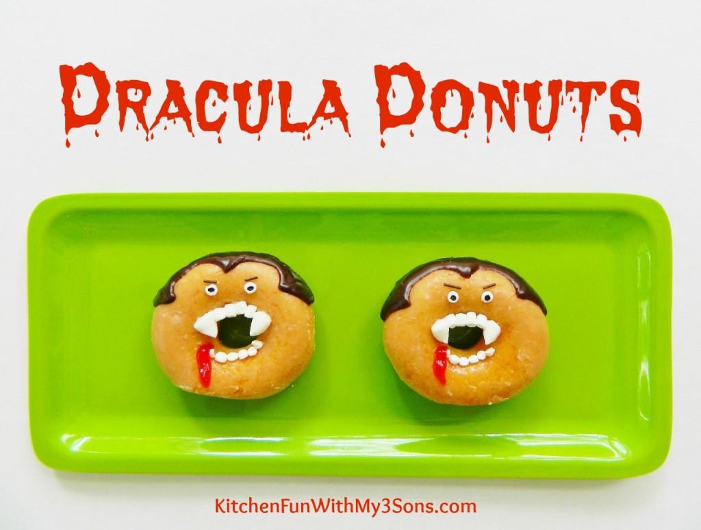 Halloween Dracula Donuts
