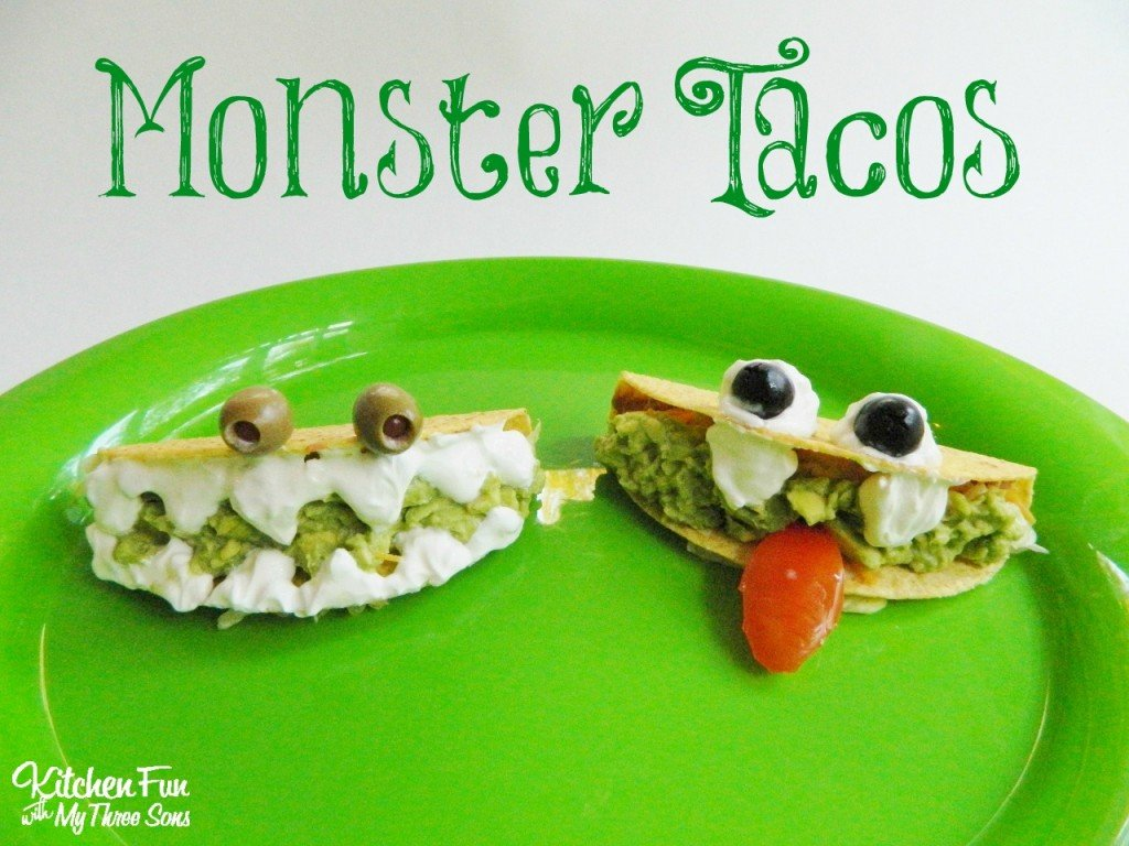 Halloween Monster Tacos