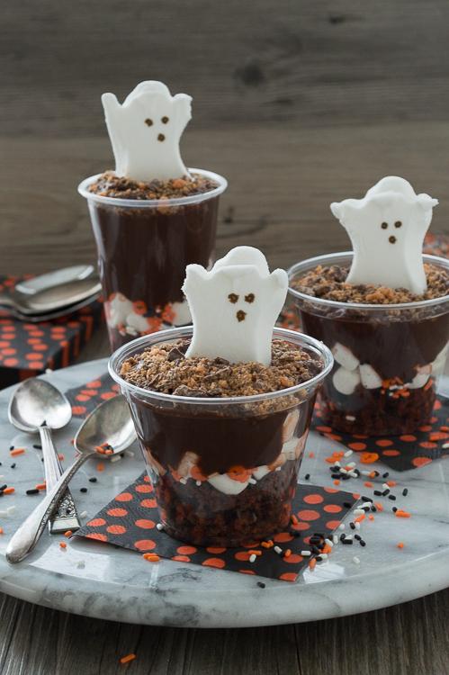 Boo Pudding Parfaits