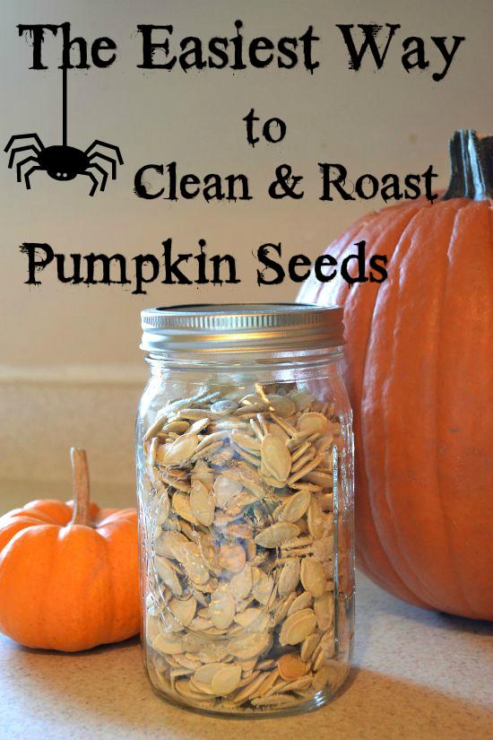 How to Clean & Roast Pumpkin Seeds
