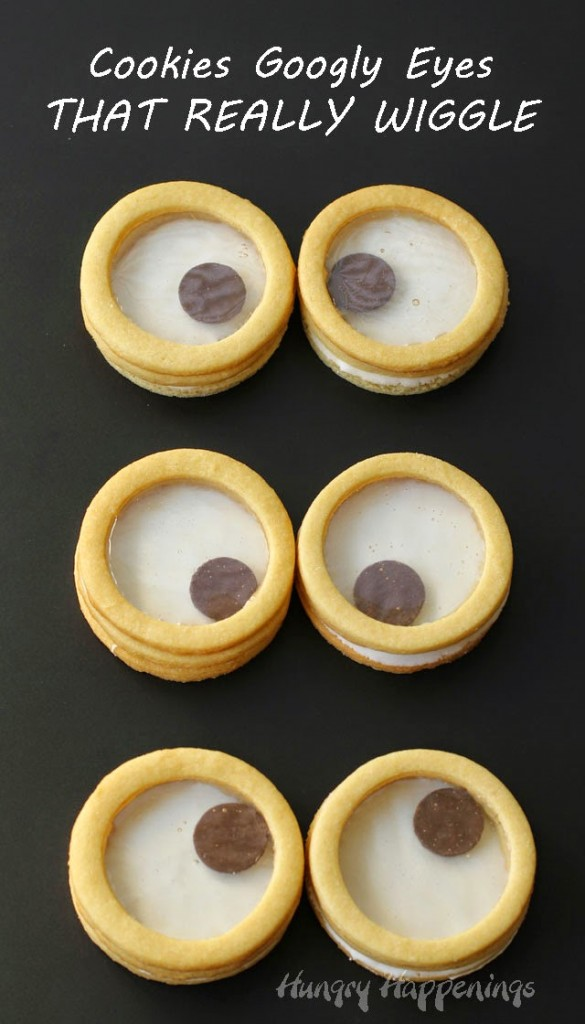 3D Googly Eye Cookies