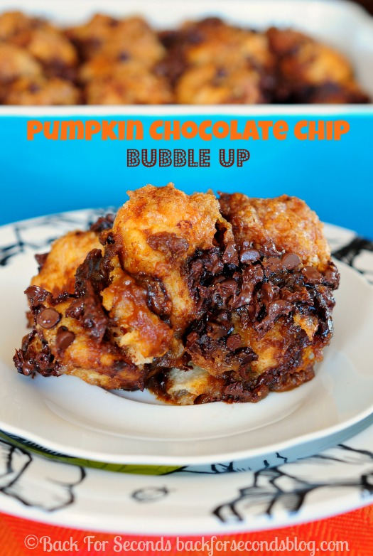 Pumpkin Chocolate Chip Bubble Up