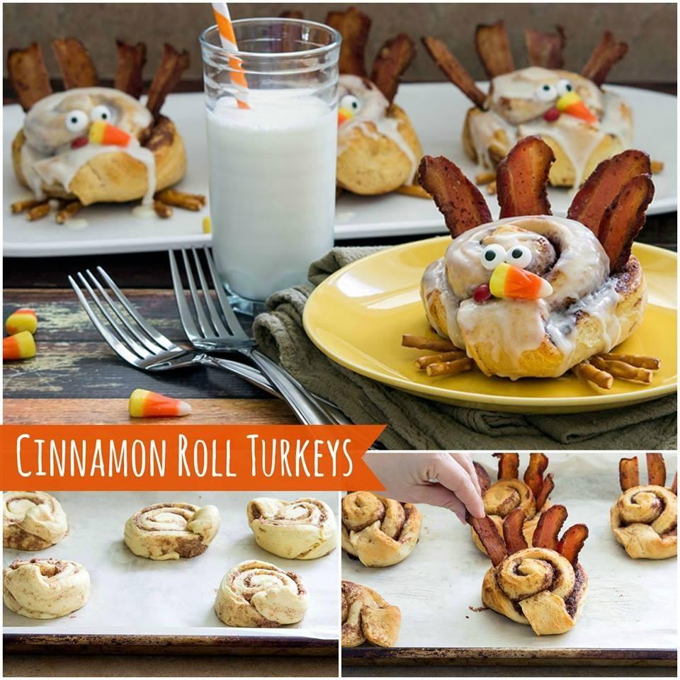 Turkey Cinnamon Rolls