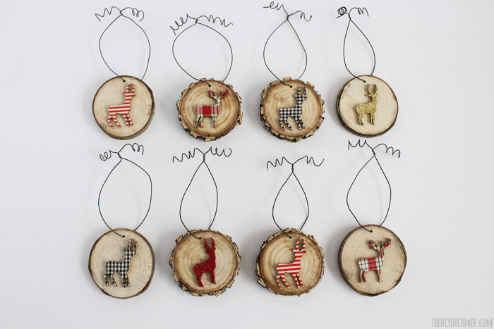 Reindeer Ornaments for Christmas