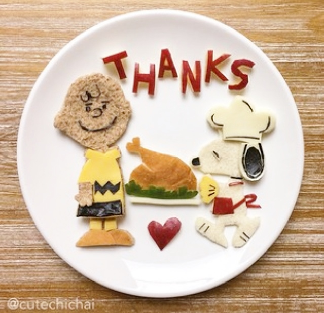 Happy Thanksgiving Charlie Brown Lunch