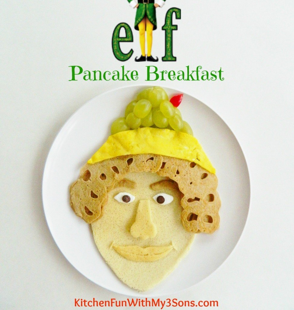Buddy the Elf Pancakes for Breakfast