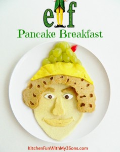 Christmas Buddy The Elf Pancake Breakfast
