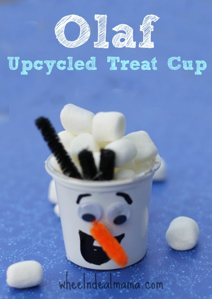Frozen Olaf Treat Cups