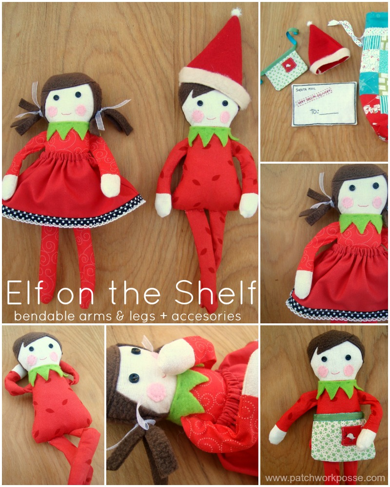 Free Elf on the Shelf Doll Pattern