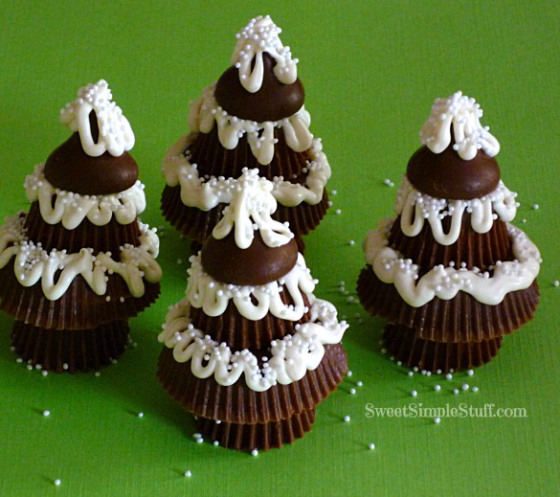 Reese's Peanut Butter Cup Trees