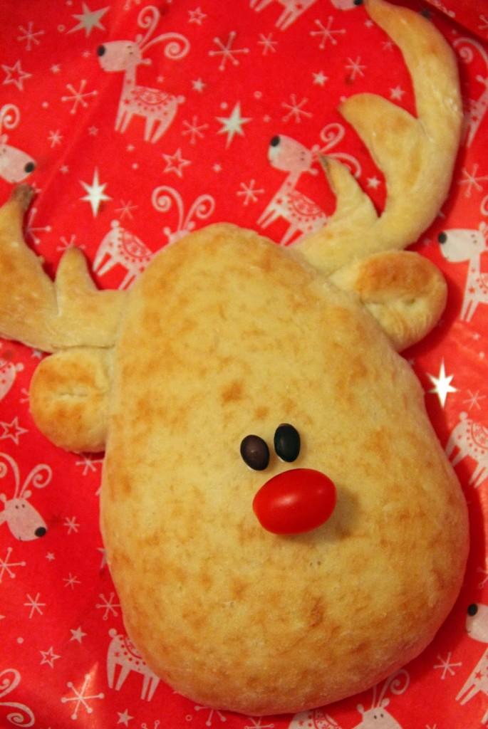 Homemade Rudolph Bread