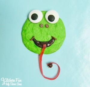 Easy Spring Frog Cookies