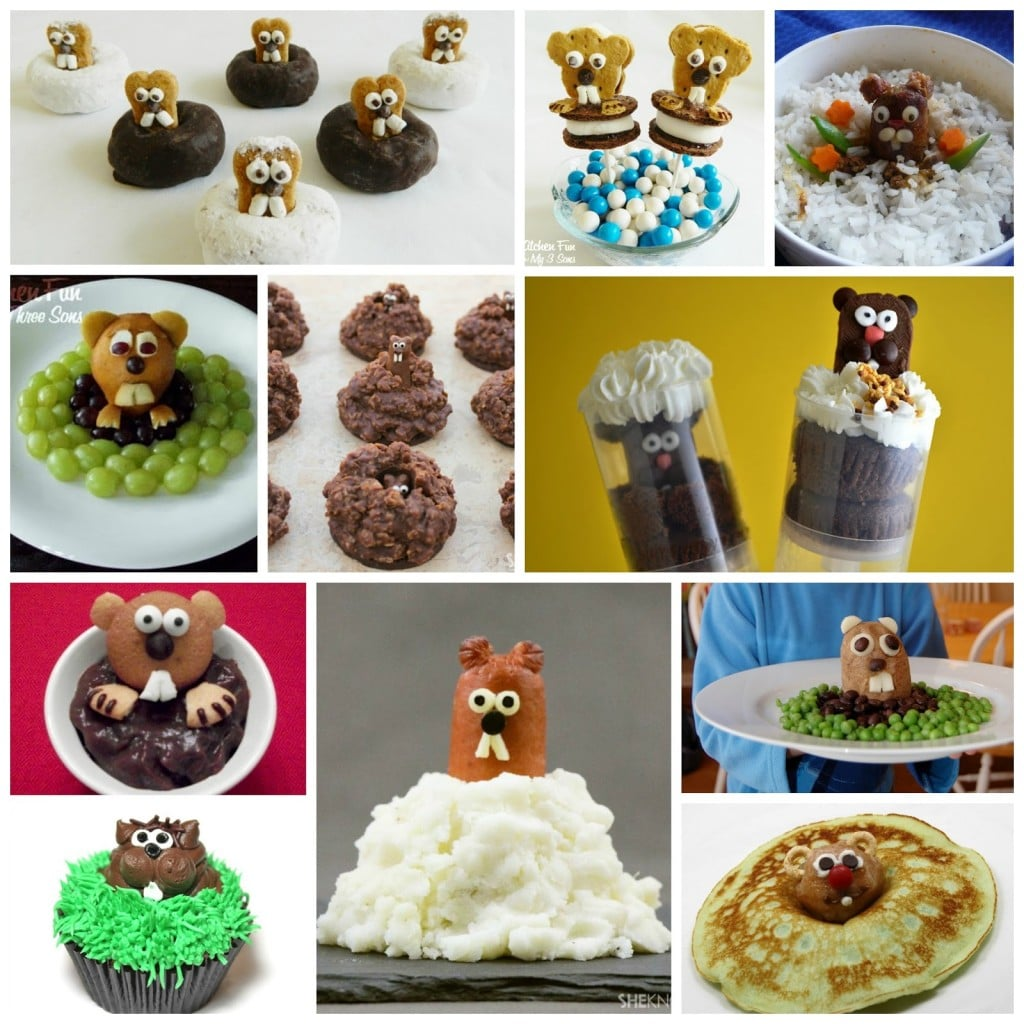 Groundhog Day Fun Food Ideas