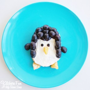 Penguin Bagel Breakfast