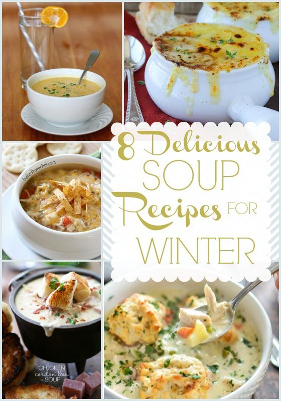 8 Winter Soup Recipes