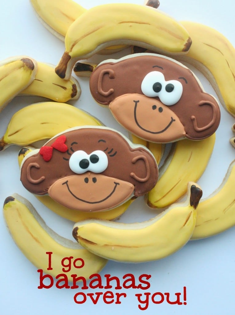 Monkey & Banana Cookies