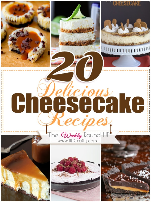 20 Delicious Cheesecake Recipes