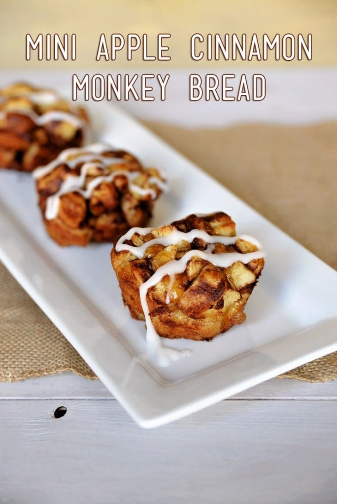 Mini Apple Cinnamon Granola Bread
