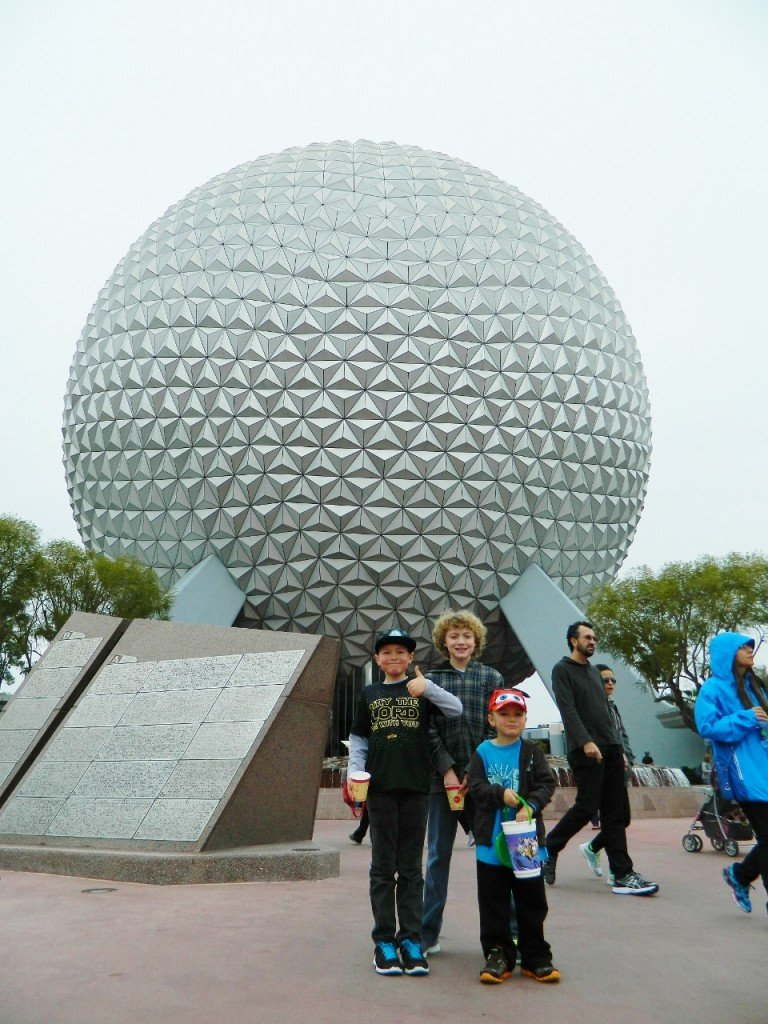 We went to Epcot for the first time and loved it!