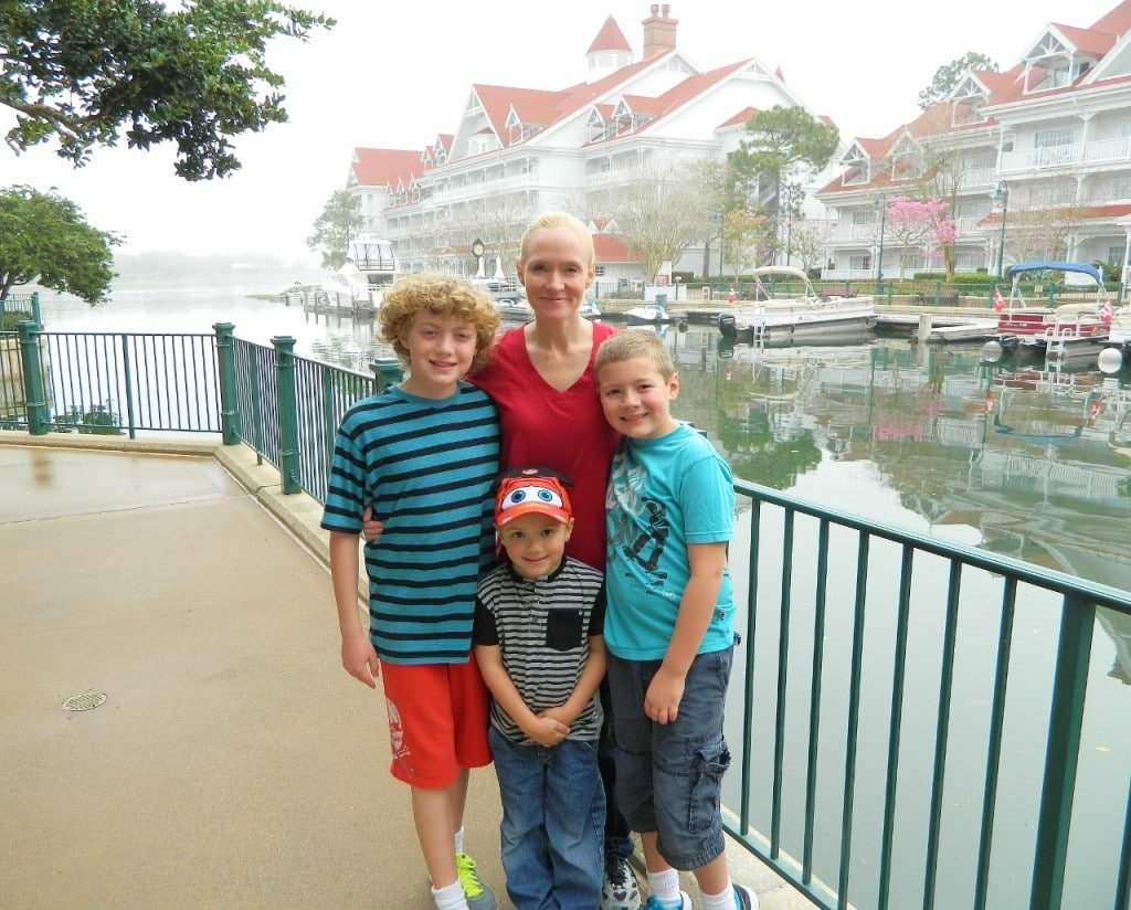 The Grand Floridian was beautiful and my boys adored the pools and water slides.