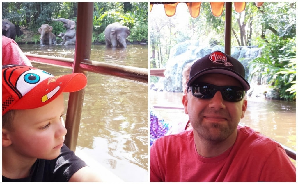 went boating on a Jungle Cruise