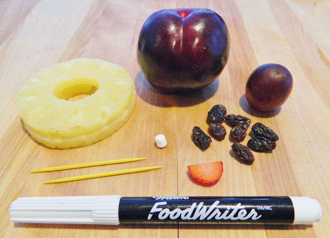 Spring Bumble Bee Fruit Snack Fruit