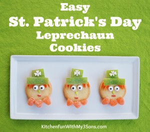 Super Easy St. Patrick's Day Leprechaun Cookies