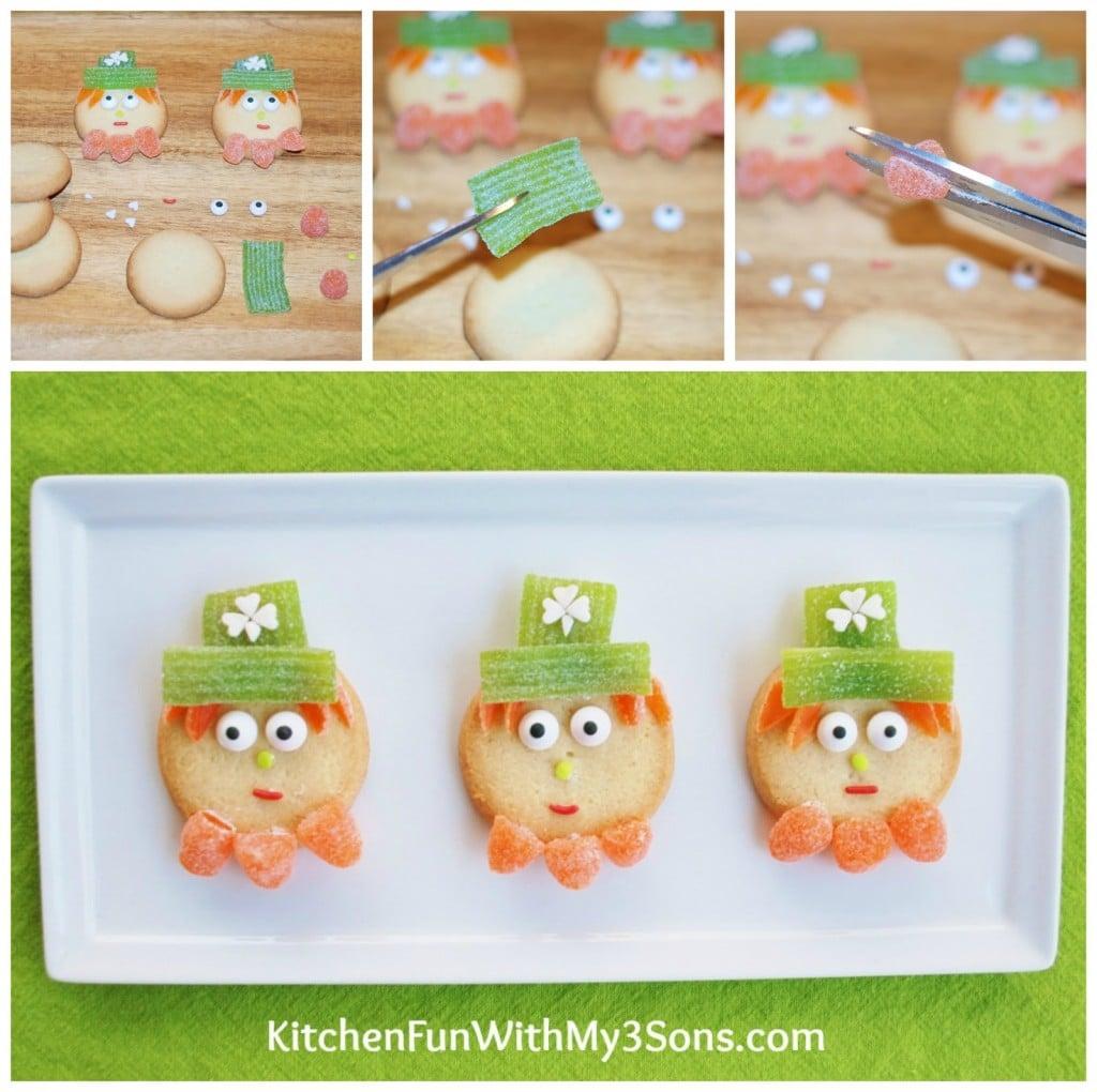 super easy st patrick u0027s day leprechaun cookies kitchen fun with