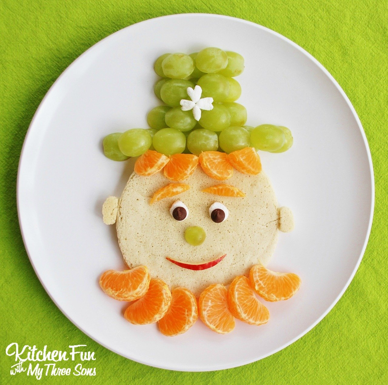 st patrick u0027s day leprechaun pancakes for breakfast kitchen fun