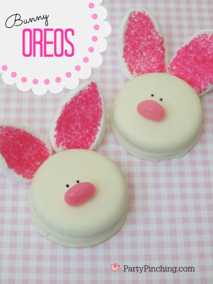 Easy Bunny Oreo Cookies
