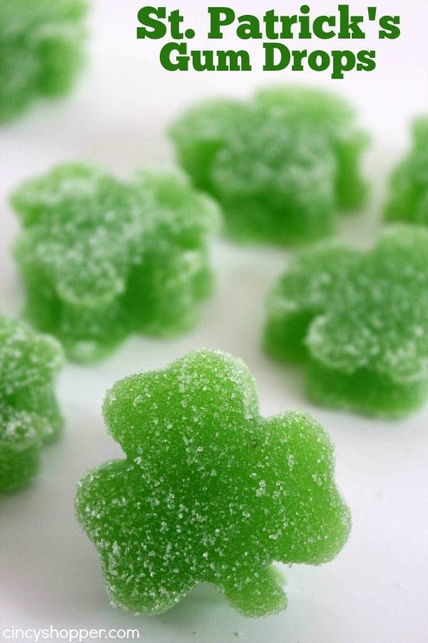 DIY St. Patrick's Day Gum Drops